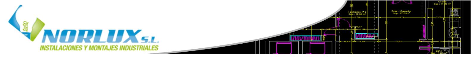 Norlux, Autor en Norlux Instalaciones S.L